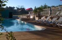 Zwembad met waterpark camping Frankrijk Dordogne