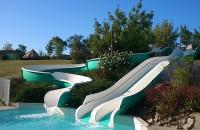 Tobboggans, Water Park Camping Aquitaine Frankrijk