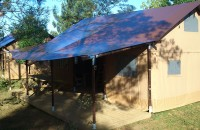 Lodge Tent 8 Personen mit Deluxe Sanitär