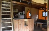 Tent Lodge Innen exklusives Loft 8 PERSONEN