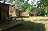 Extérieur Tente Lodge 6 personnes