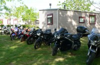 Camping relais motard