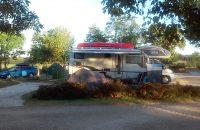 aire de service stabilisé pour camping car