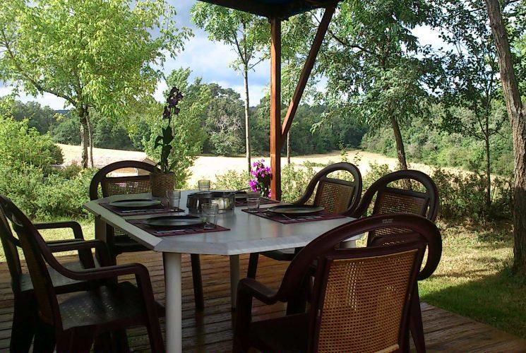 Location mobilhome camping dordogne monpazier biron for Camping dordogne sarlat avec piscine