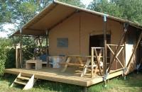Tente Lodge Luxe avec sanitaire et très grand confort LAS PATRASSES