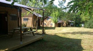 Our Lodge Luxury tents with health! Create a gift box!