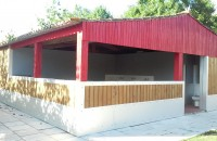 营地新设公共卫生间