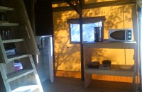 interieur Tente Lodge 6 personnes