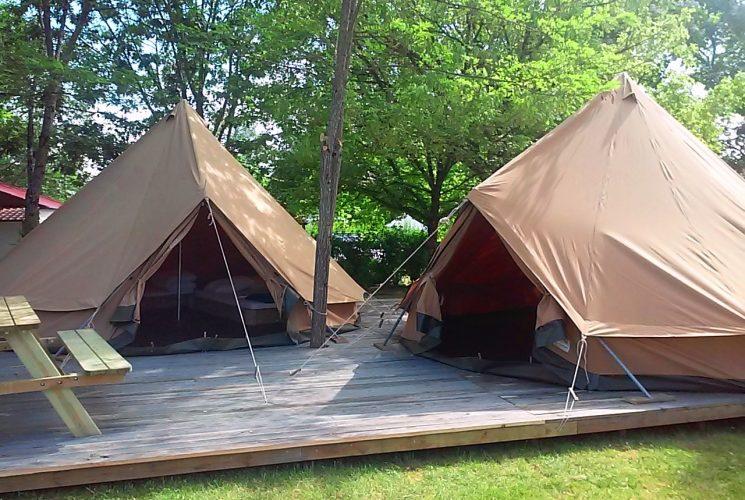 location tente en camping