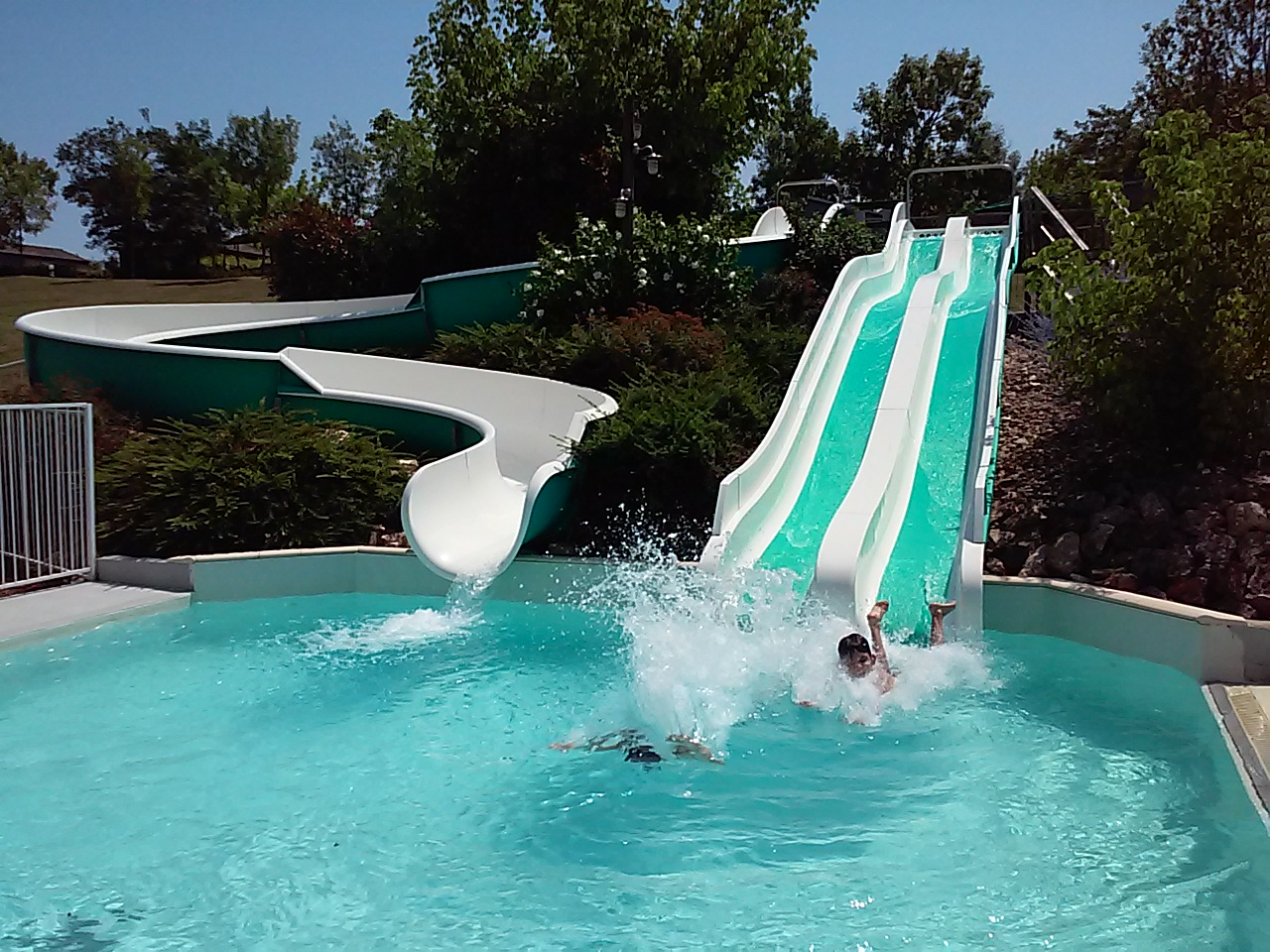 Toboggan piscine pas cher for France piscine