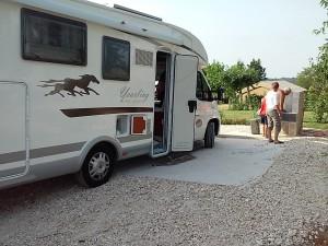 aire de service camping car monpazier