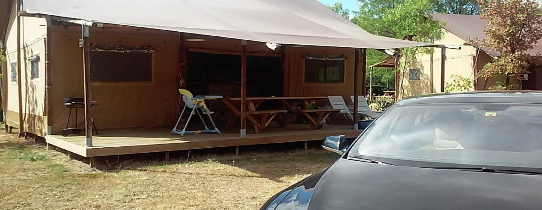 Location insolite Tribu vacance camping dordogne