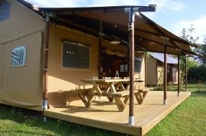 Campsite Luxe in France Dordogne