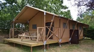 Unsere Lodge Luxus Zelte mit Gesundheit! Erstellen Sie einen Geschenkkasten!