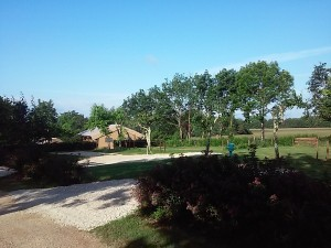 Aire camping car stabilisé  camping DORDOGNE