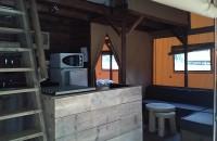 Tente Lodge de LUXE intérieur 8 PERSONNES MEZZANINE