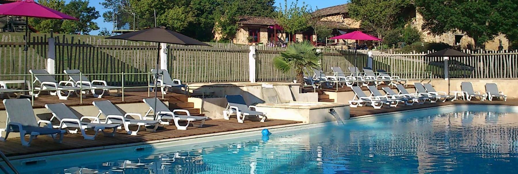 Camping Frankrijk Zuid Dordogne Met Zwembad En Een
