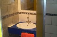 Espace sanitaire chauffé du camping Las Patrasses