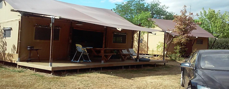 不同于一般酒店的营地住宿