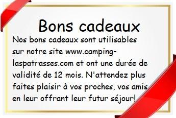 Un bon d'achat pour vos proches! des vacances en Camping Dordogne